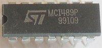 MC1489P - linkový přijímač RS232, DIL14