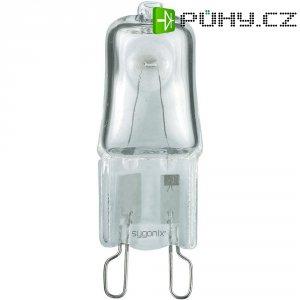 Halogenová žárovka Sygonix, G9, 42 W, 42 mm, stmívatelná, teplá bílá