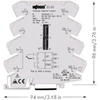 Měřicí převodník WAGO 857-810, 16,8 V - 31,2 V