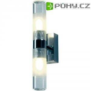 Nástěnné svítidlo do koupelny SLV Mibo, 151282, 50 W, G9, IP21, chrom