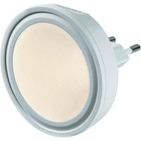 Noční LED svítidlo Sygonix Lucca, 34401W, 0,6 W, teplá bílá/bílá