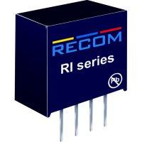 DC/DC měnič Recom RI-0505S/P (10003772), vstup 5 V/DC, výstup 5 V/DC, 400 mA, 2 W