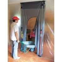 Dveře na ochranu proti prachu s průchodem 5005 824187