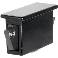 Krytka do pouzdra PB Fastener 0111-3010-01-LBA, černá, 1 ks