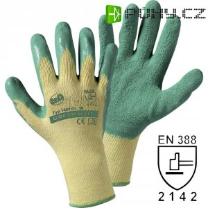 Leipold + Döhle Green grip 1492SB, Rukavice slatexovou vrstvou, velikost rukavic: 9, L