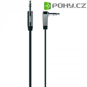 Připojovací kabel Belkin, jack zástr. 3.5 mm/jack zástr. 3.5 mm, černý, 0,9 m