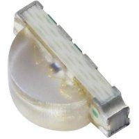 SMD LED Kingbright, KPFA-3010RGBC-11, 20 mA, 2 V, 120 °, 140 mcd, červená/zelená/modrá