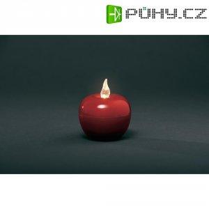 Svítící jablko velké LED Konstsmide, červená