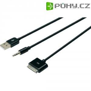 Napájecí/datový/audio kabel pro Apple, 30 pol. konektor, Digitus