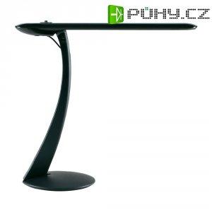 Stolní lampička MAULSwan LED 8W, černá stmívatelná