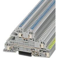 Vícenás. instalační svorka Phoenix Contact UTI 2,5-PE/L/N (3076030), šroubovací, šedá