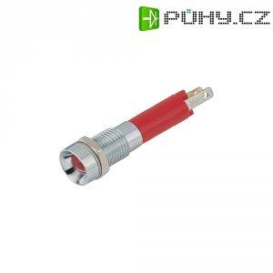 LED signálka Signal Construct SMZD08124, vnitřní reflektor, 24 V/DC, žlutá