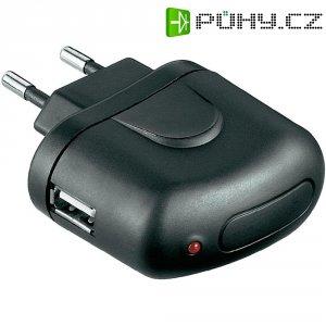 USB nabíječka Goobay Tra 44008, černá