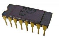 MAB08F 8-kanál analog.multiplex DIP16