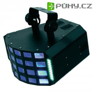 DMX LED efektový reflektor Eurolite LED D-20, 51918300, 12 W, multicolour