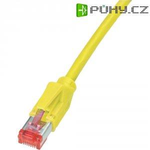 Patch kabel Dätwyler CAT 6 PiMF, 5 m, žlutá