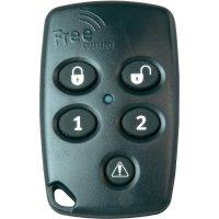 Bezdrátový dálkový ovladač pro alarmovou centrálu Koop FreeControl, 811417022, 150 m