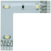 Úhlový LED propojovací pásek Paulmann YourLED, sada 3 ks, 3x 0,24 W, t. bílá (70205)
