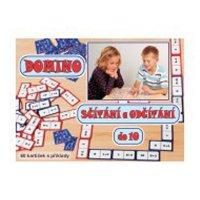 Hra Domino sčítání a odčítání