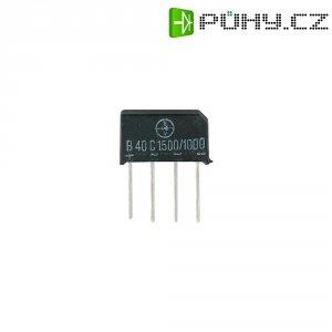 Můstkový usměrňovač Diotec B250C1500-1000, U(RRM) 500 V, 1,4 A (1,6 A)