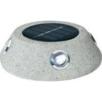 Solární zahradní LED kámen Basetech RFD-SLS033