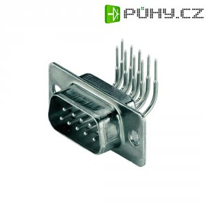 D-SUB kolíková lišta BKL Electronic 10120258, 9 pin, úhlová, 90 °