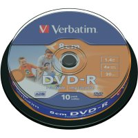 Verbatim DVD-R 1,4GB 8CM 4X 10ks SPINDL