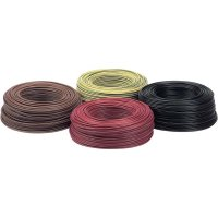 Kabel LappKabel H07V-K (4520014), 1x 6 mm², PVC, Ø 5,30 mm, 1 m, černá