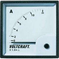 Analogové panelové měřidlo VOLTCRAFT AM-72X72/10A 10 A