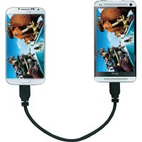 MicroUSB kabel SuperSoft OTG-Mirror , 0,15 m