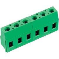 Pájecí šroub. svorka 3nás. PTR AKZ710/3-7.62-V (50710030213E), 7,62 mm, zelená