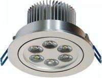 Podhledové světlo LED 6x1W,bílé teplé, 230V/6W