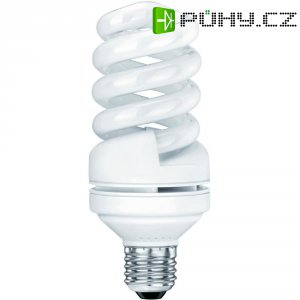 Úsporná žárovka spirálová Sygonix E27, 20 W, teplá bílá