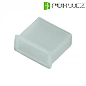 USB záslepka Typ A, transparentní