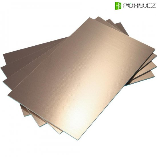 Epoxidová DPS Bungard 020306E70, 100 x 50 x 1,5 mm, jednostranná, epoxyd/měď 35 µm - Kliknutím na obrázek zavřete