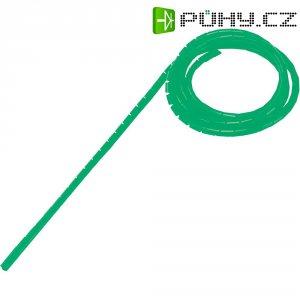 Spirálová hadice, WB-0203, zabalená, Ø: 2 - 25 mm, 5 m, zelená