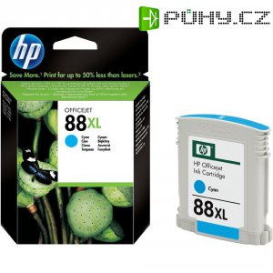Cartridge do tiskárny HP C9391AE (88XL), cyanová