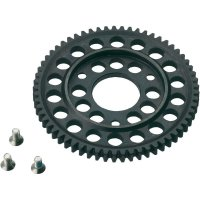 Ocelové hlavní ozubené kolo 2-rychlostní, 61 zubů, 1:10 (SEM0611)