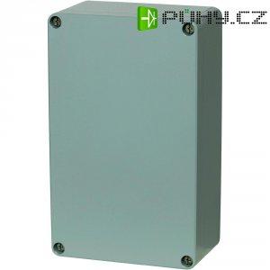 Hliníkové pouzdro Fibox ALN 121208, (š x v x h) 125 x 124 x 81 mm, stříbrná (AL 121208)