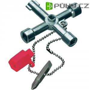 Klíč ke skříňovému rozvaděči Knipex 00 11 03, 76 mm, 90 g
