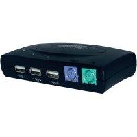 Přepínač KVM Digitus DC-11201 se 2 porty, USB