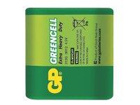 Baterie 3R12 (4,5V-plochá) Greencell GP