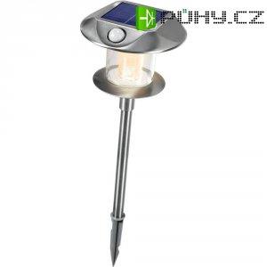 Solární LED svítidlo s detektorem pohybu Esotec Sunnylight, 102092, nerez