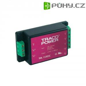 Síťový zdroj do DPS TracoPower TML 15112C, 12 V, 1250 mA