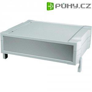 Stolní pouzdro ABS Bopla, (d x š x v) 196,9 x 174 x 65,2 mm, šedá (BO 32009)