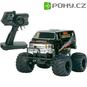 RC model EP Monstertruck Tamiya Lunch Box Black Edition, 1:12, 2WD, RtR 2.4 GHz