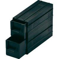 ESD zásuvka na součástky BJZ C-188 052, 120 x 43 x 40 mm, černý