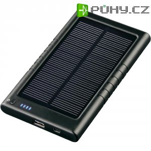 Přenosná solární nabíječka Hama 3000, 3000 mAh
