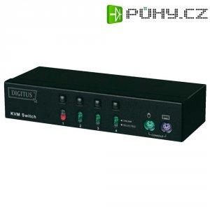 KVM přepínač, 4x port, Digitus DC IC814IA-MC