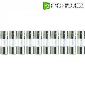 Jemná pojistka ESKA rychlá 515666, 125 V, 6 A, skleněná trubice, 5 mm x 15 mm, 10 ks
